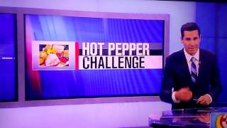 Lance 210 and or Lance Stewart, Lizzy Wurst, and Sabrina were on the news trending worlds hot pepper