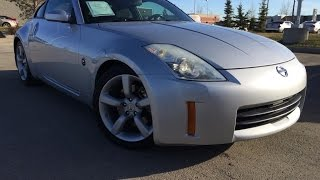 Used Silver 2006 Nissan 350Z Auto Performance Review Vegreville Alberta