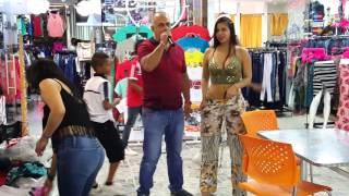 Modelo Lorena orozco Centro comercial el Tesoso Cali valle