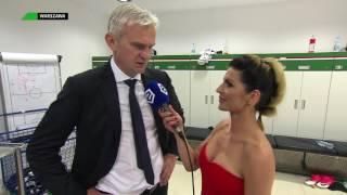 Jacek Magiera tuż po zdobyciu mistrzostwa Polski || Piłka nożna || Ekstraklasa