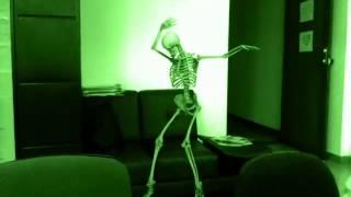 el esqueleto bailarín