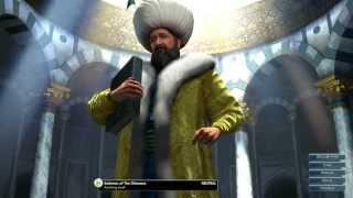Civilization V Leader | Suleiman of the Ottomans