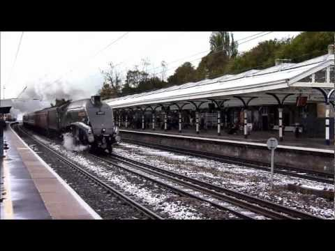 60009 Union of South Africa and 57601 at Durham and Blaydon on 27th October 2012.wmv