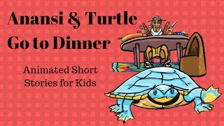 Anansi learns some manners from Turtle