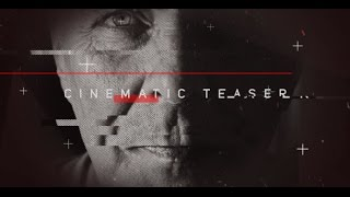 Cinematic Teaser | After Effects template