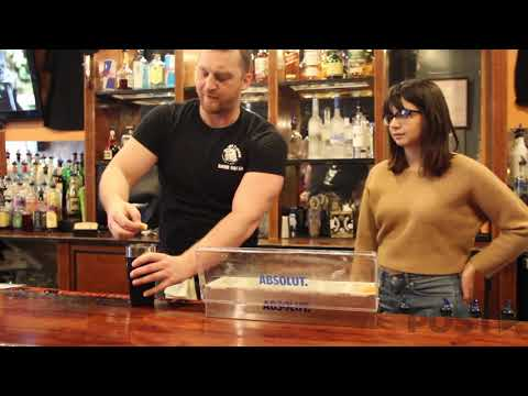 Alex Darus heads to The Pigskin to learn how to make four drinks. Dave teaches The Post how to make a Black Widow, a Red Death, a Lemon Drop Martini and an Irish Flag Shot.