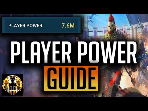 RAID: Shadow Legends | Player Power Guide