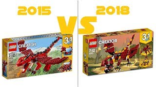 LEGO  Creator 2018 - New Sets #2 - Official HQ Images + Comparison