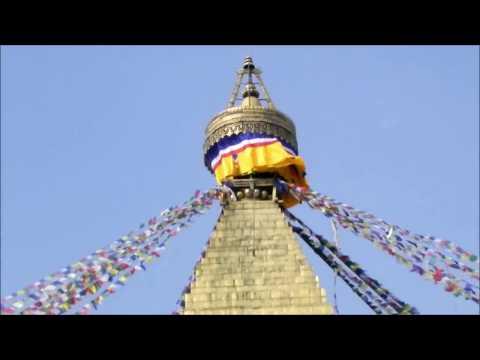A Walk Around Boudhanath Stupa In Kathmandu Nepal