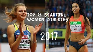 Track & Field - Top 8 Beautiful Women Athletes // 2017 ● HD ●