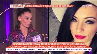 """Cosmina Păsărin nu mai crede în dragoste? """"Este o perioadă în care mă bucur de mine"""""""