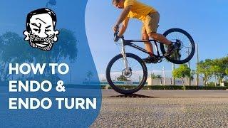 """How to endo & """"endo turn"""" a mountain bike"""