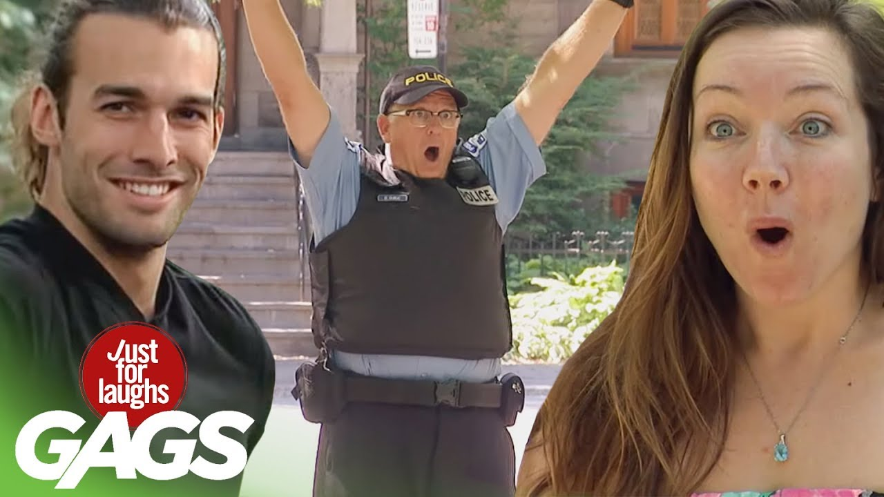 Best of Police Pranks Vol. 2 | Just For Laughs Compilation