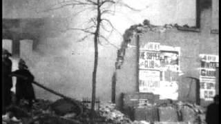 La quema de la academia de manejo Burland. 1902 - Thomas Alva Edison