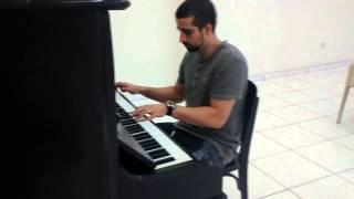 RUDE CRUZ NO PIANO... HINO DA HARPA CRISTÃ... JESSE JORGE
