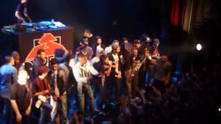 Concert S-Crew - U.B - Nekfeu et L'entourage live à La Cigale