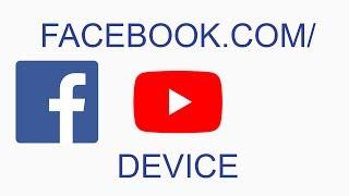 www.facebook com/device