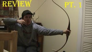 Black Widow PSR III Review Part 1 | Traditional Archery