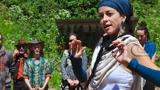 """Thank You Very Much"" by Leah Song from Rising Appalachia, for a Music As Medicine Workshop"