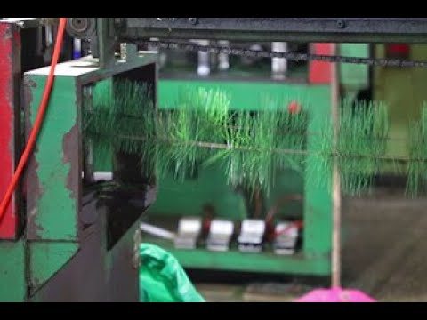 How are Artificial Christmas Trees Made? | Co-Arts Innovation