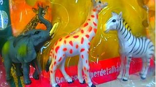 giocattolo mondo animali selvaggio   giraffa leone tigre elefante ippopotamo zebra zoologico