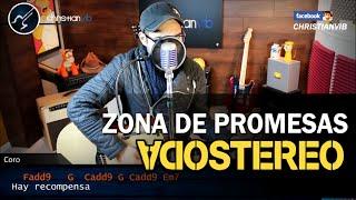 Zona de Promesas SODA STEREO Cover | Tutorial Guitarra Demo Christianvib