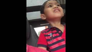 Baby menyanyi TANPA DIRIMU Faizal AF