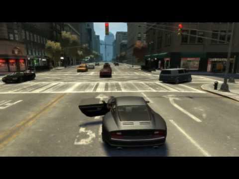 GTA 4 Zabawne upadki