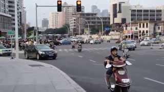 Fuzhou traffic rules in Blond Eyes