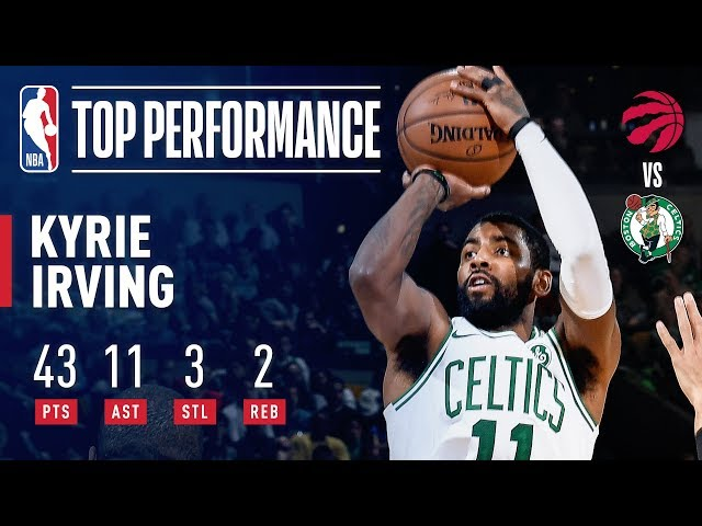 LeBron James Salutes Kyrie Irving's Virtuoso Performance Over The Raptors