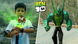 Ben 10 Transformation in Real Life!   A Short film VFX Test