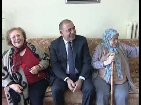 Gürsel Tekin Ankara'da, Ümitköy Huzurevi Yaşlı Bakım Merkezini ziyaret etti.