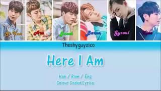 VAV - Here I Am: Colour Coded Lyrics ( Han / Rom / Eng )