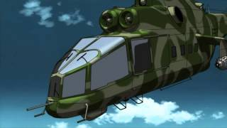Black Lagoon - Boat vs Helicopter