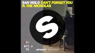 San Holo – Can't Forget You (feat. The Nicholas) – Single (2015) [iTunes Plus AAC M4A]