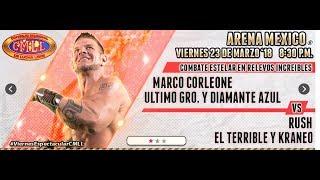 CMLL Viernes Arena México 23 de marzo de 2018 (Función completa)