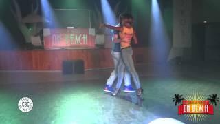"""Felicien et Isabelle joyaux de la Kizomba de chez """"NOUS"""" au SWOB 2014"""