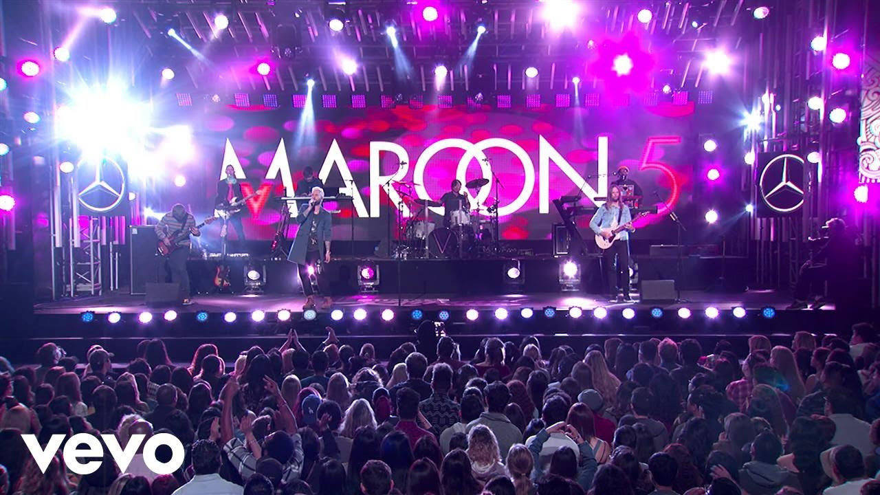 Maroon 5 Concert Ticketmaster Group Sales January
