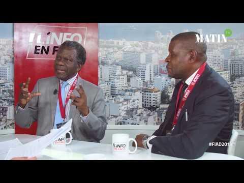 Video : Jacques Bouity & Pierre Mpanidou, invités de l'Info en Face spécial FIAD