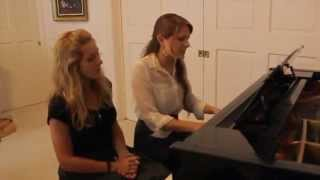 the words-Christina Perri (cover by Abby Urban & Rachel Southward)