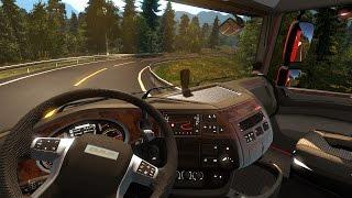 Euro Truck Simulator 2 - ACIDENTE na VIAGEM!!! + G27