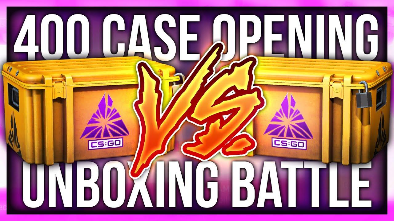 Anomaly - CS:GO CRAZY 400 CASE 1v1 OPENING BATTLE (ft. Victor)