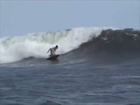 Andy Irons, Cory Lopez, Freddy P, and Snips in Nicaragua