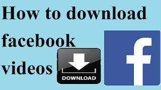 How to downlod facebook videos || facebook download || video download