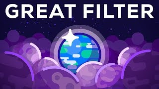Why Alien Life Would be our Doom - The Great Filter width=