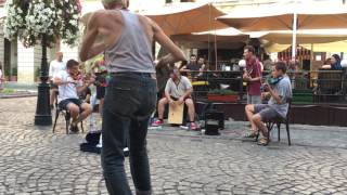 Street Musicians Chop Suey Cover