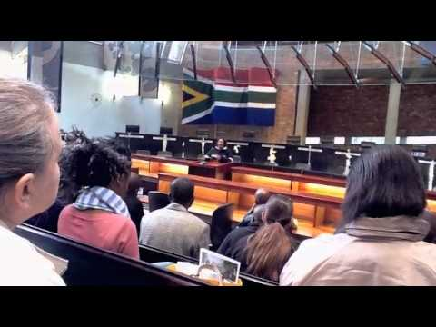 Apartheid-  a member of parliament tells her story