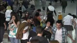 Freezing Flash Mob in Ankara
