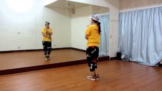 2NE1 - FALLING IN LOVE Dance Tutorial(the beginning)~小五MV舞蹈教學(Five's MVDance Class)