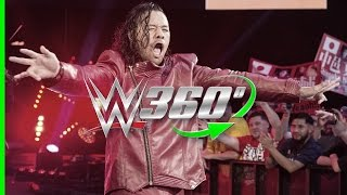 Relive Shinsuke Nakamura's NXT TakeOver: Brooklyn II entrance in 360°!